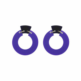 petite shift hoops royal purple