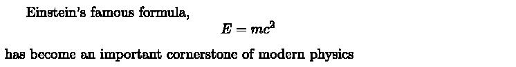 LatexDisplayMath