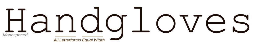 TypographyMonospaced