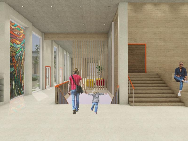 Westerdals institutt for kreativitet, fortelling og design - Munch Kulturhus