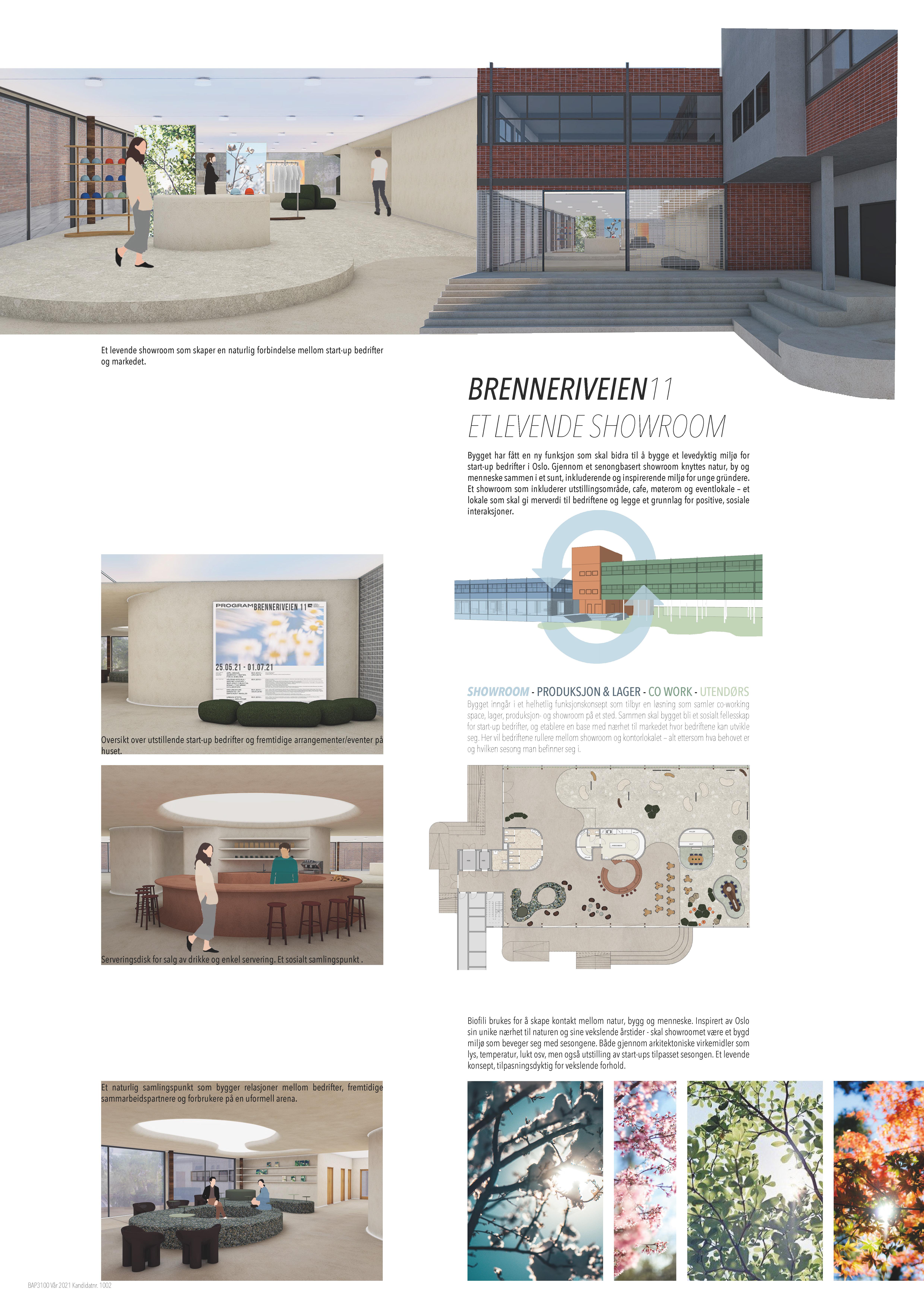 Westerdals institutt for kreativitet, fortelling og design - Et levende showroom