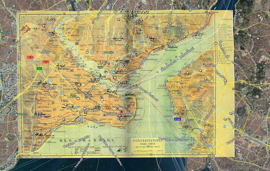 Google Earth Harici Harita Görseli Kullanmak