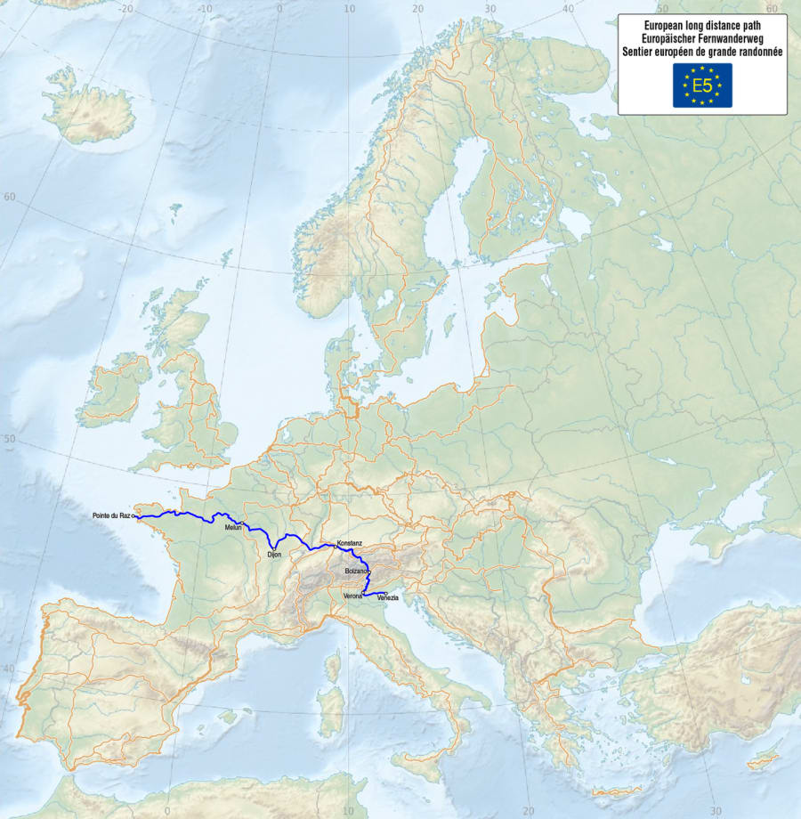 E5 - European Long Distance Path