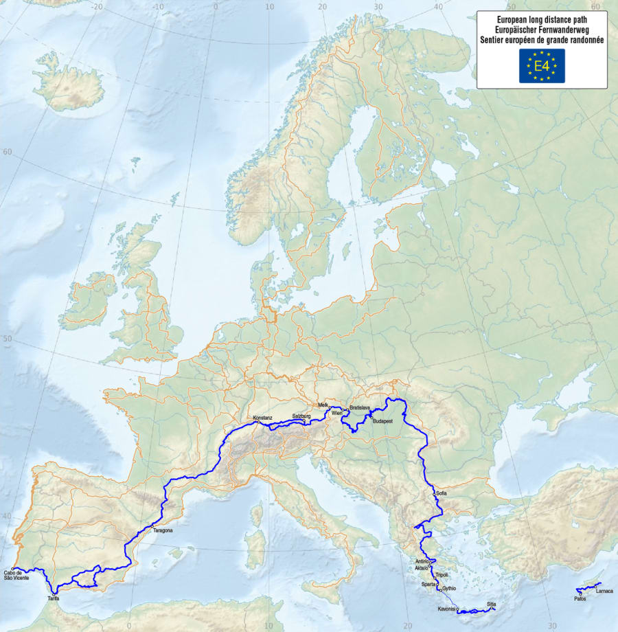 E4 - European Long Distance Path