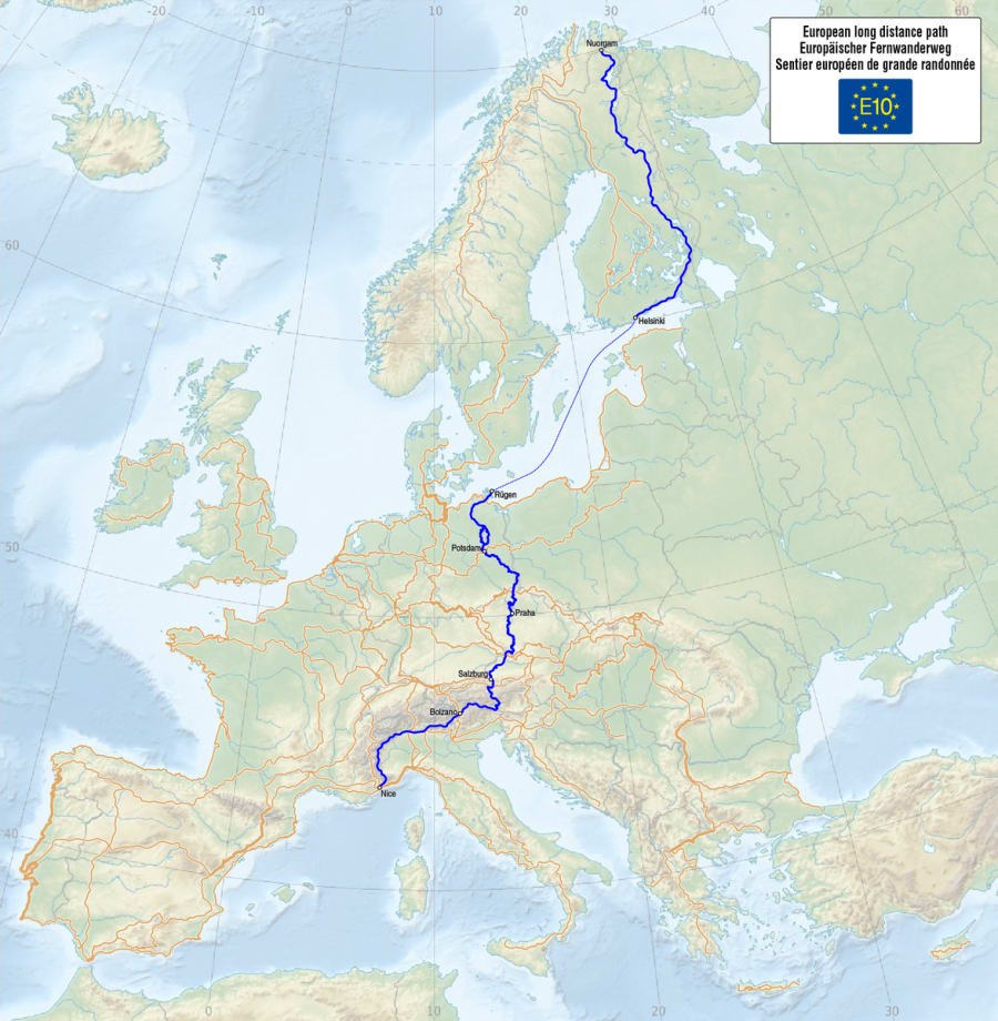E10 - European Long Distance Path
