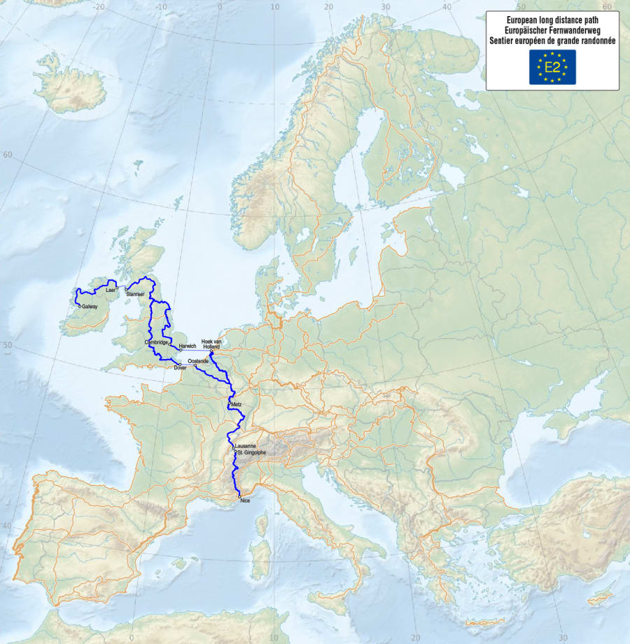 E2 - European Long Distance Path