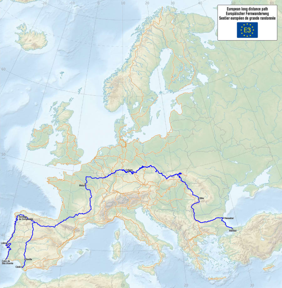 E3 - European Long Distance Path