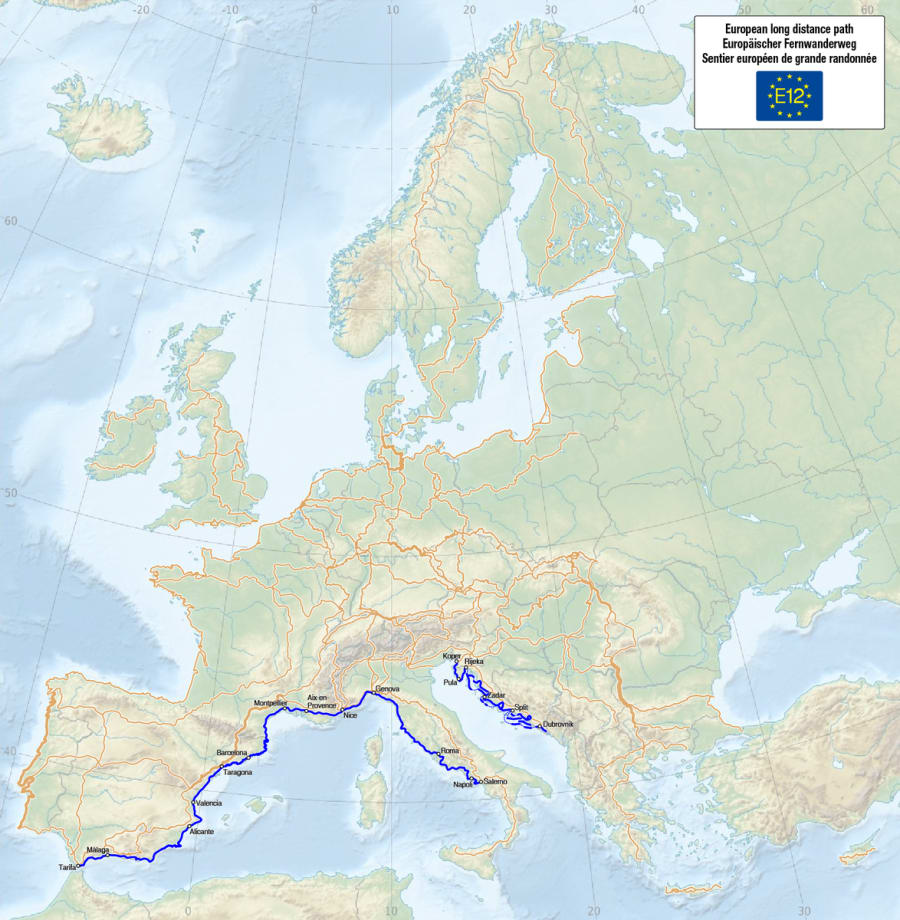 E12 - European Long Distance Path