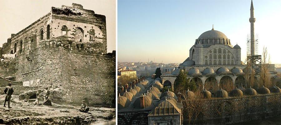 Edirnekapı Tepesi - Tekfur Sarayı ve Mihrimah Sultan Cami
