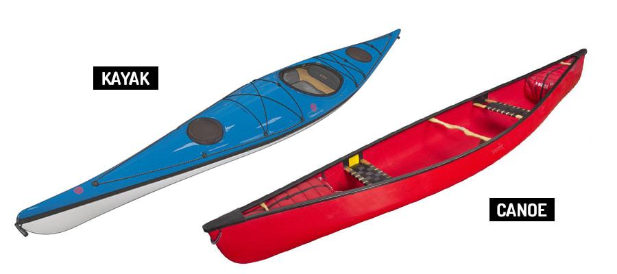 Kano ve Kayak Görünümleri