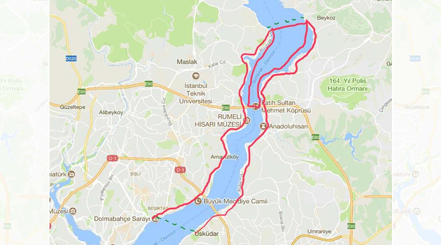 Kıtalararası İstanbul - Bisiklet ve Kayak Rotası