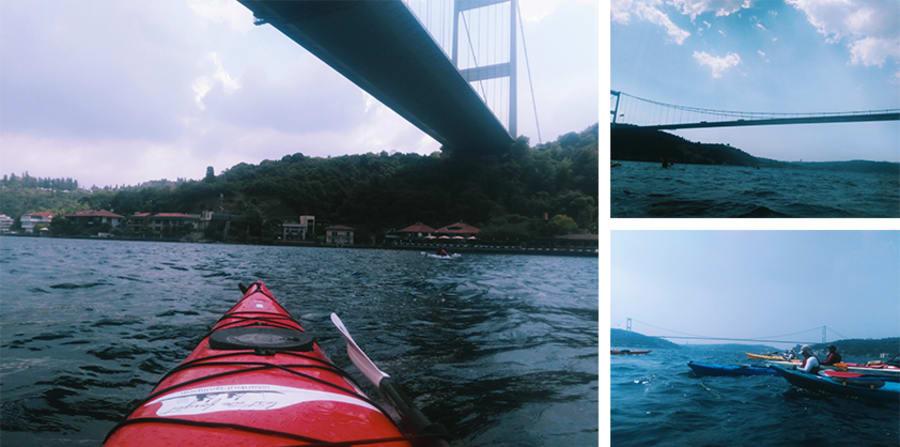 Kıtalararası İstanbul - Kayak Geçişi