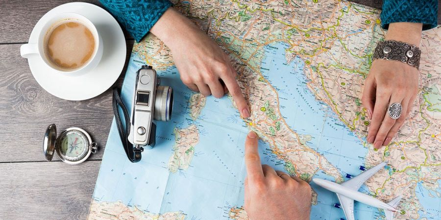 Don't get lost! How to plan out your trip ahead of time.
