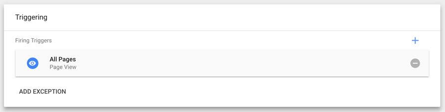 Google tag manager triggering