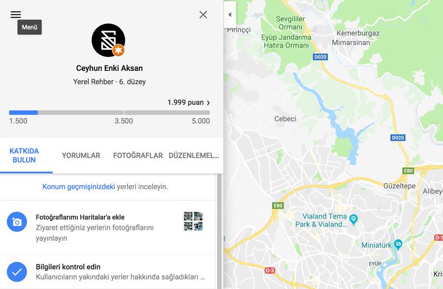 Google lokal rehber