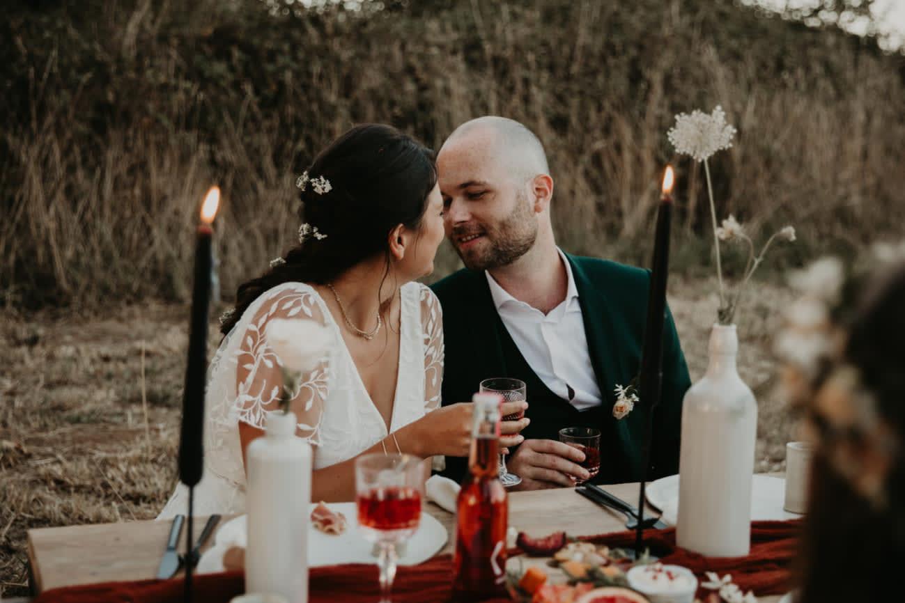 Inspiration mariage éco-responsable : un Été Indien