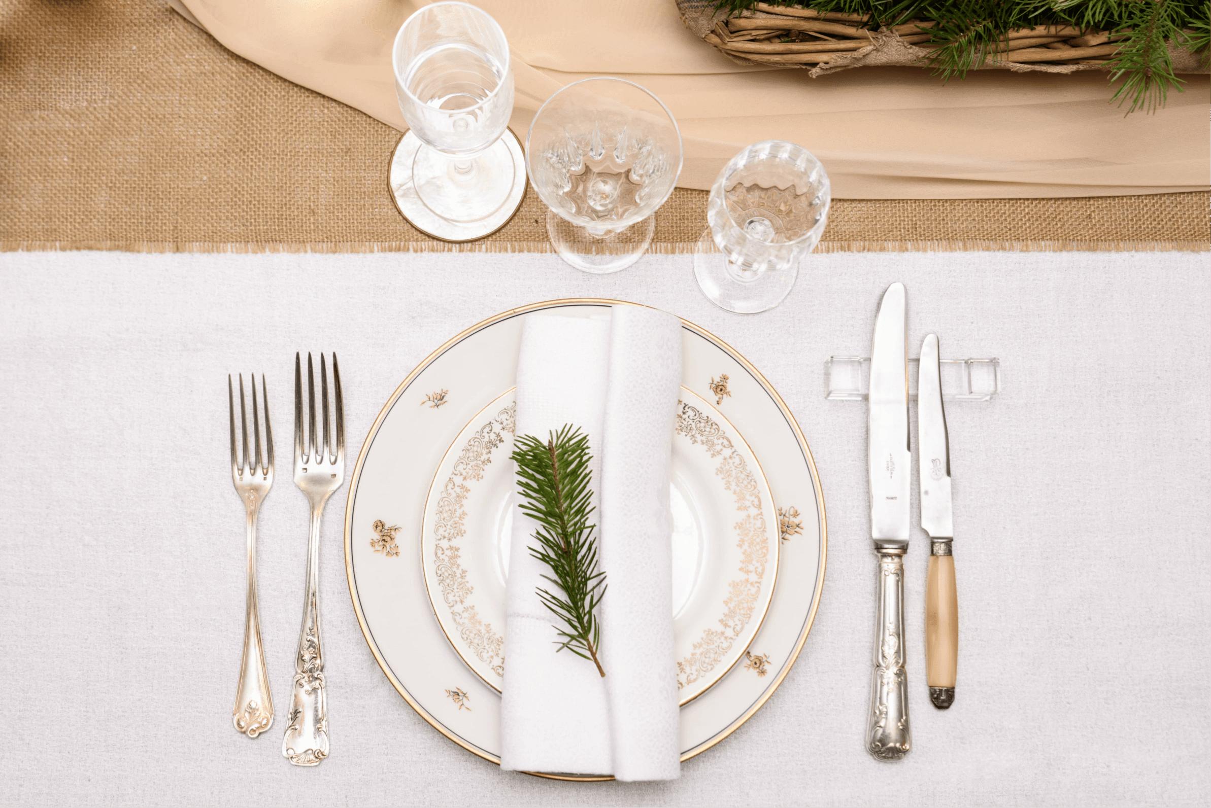 Une table éco-responsable pour Noël