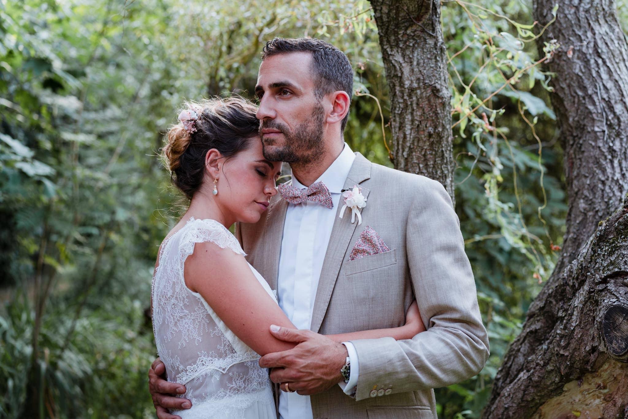 Shooting d'inspiration :  Mariage romantique chic et éthique