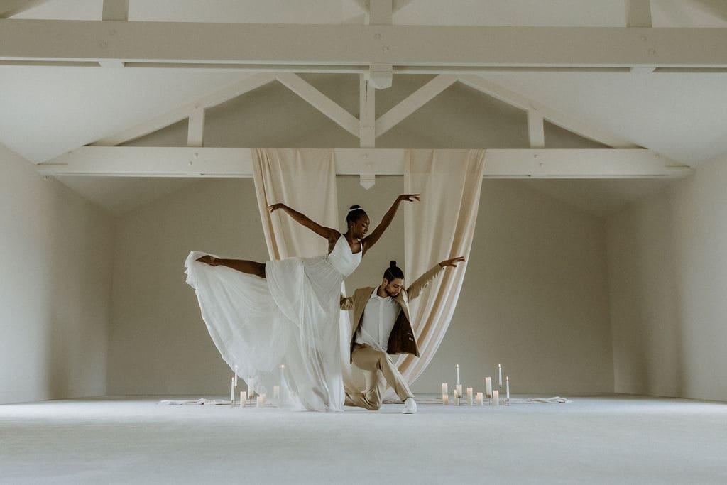 """La modernité dans l'éco-responsabilité : Shooting d'inspiration """"Love at First Dance"""""""