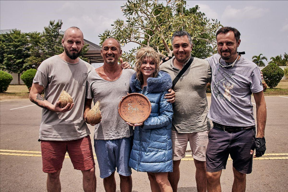 Кристина Асмус потрясла «Булками» на Бали
