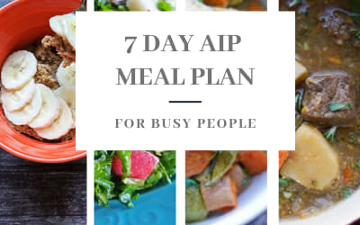7 Day Autoimmune Protocol Meal Plan For Busy People