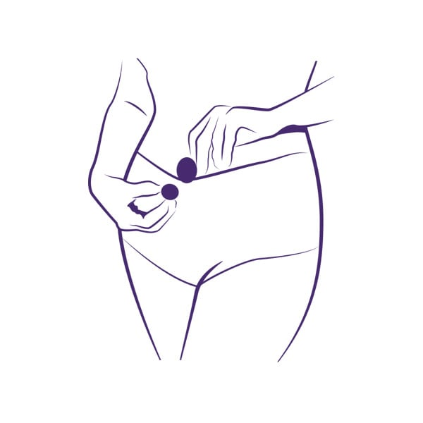 Ladycare Menopause Magnet