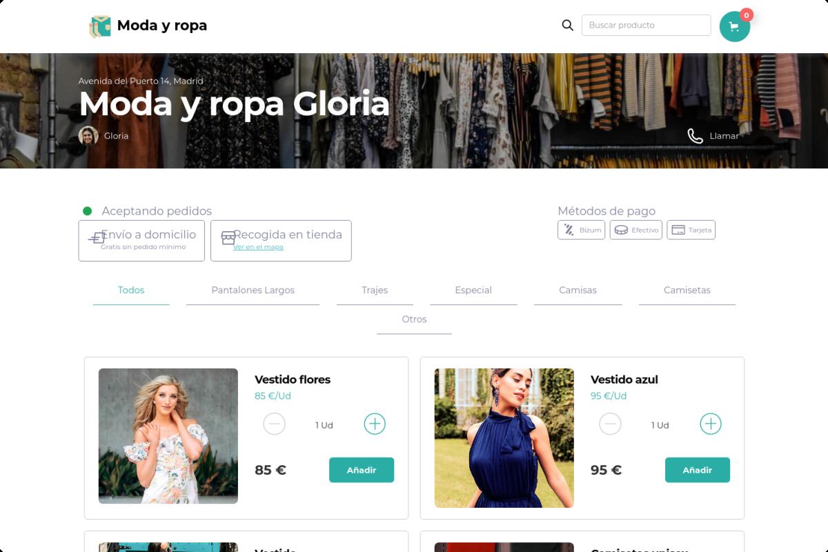 Tienda online de Moda y ropa