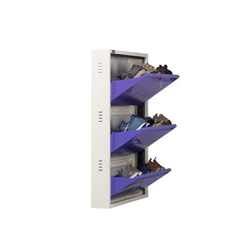 All New 9 Pair Shoe Rack Purple | Premium Matte Finish