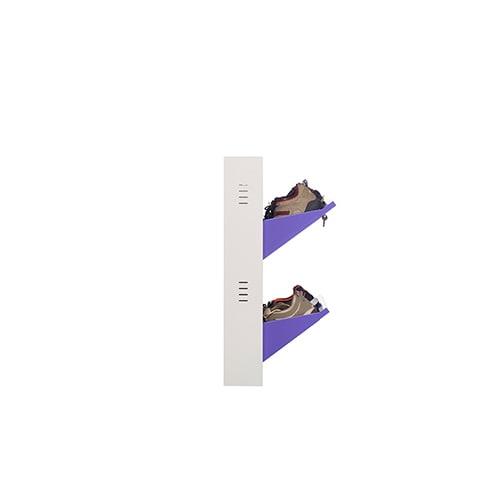 DNS Metal 6 Pair Shoe Rack Purple | Premium Matte Finish
