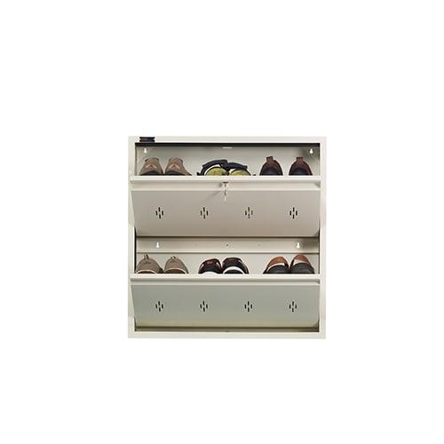 All New 6 Pair Shoe Rack Ivory | Premium Matte Finish