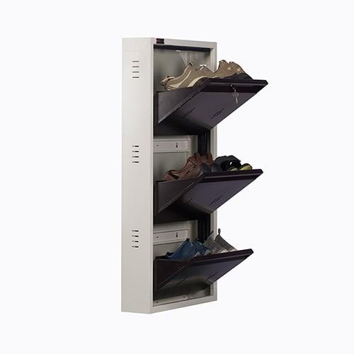 All New 6 Pair Shoe Rack Brown | Premium Matte Finish