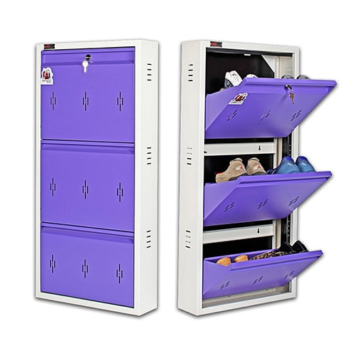All New 6 Pair Shoe Rack Purple | Premium Matte Finish