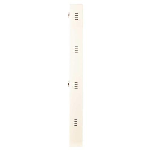 DNS Metal 12 Pair Shoe Rack Ivory | Premium Matte Finish