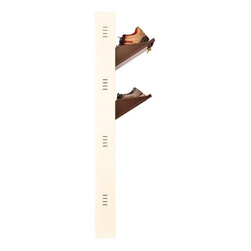 DNS Metal 8 Pair Shoe Rack Brown | Premium Matte Finish