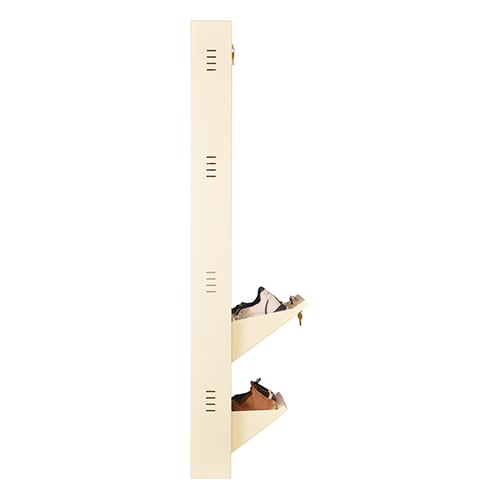 All New 8 Pair Shoe Rack Ivory | Premium Matte Finish
