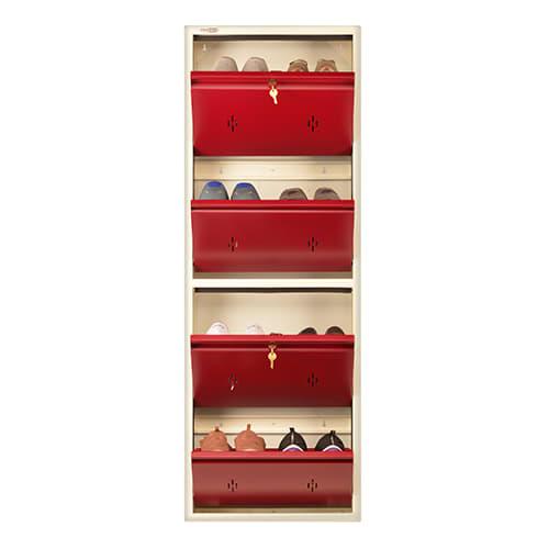 All New 8 Pair Shoe Rack Maroon | Premium Matte Finish