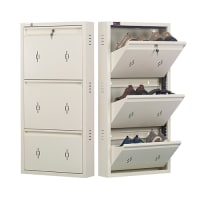 All New 6 Pair Shoe Rack Ivory| Premium Matte Finish