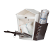 DNS Milk Box With Newspaper Holder Brown With Lock |