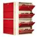All New 12 Pair Shoe Rack Maroon | Premium Matte Finish