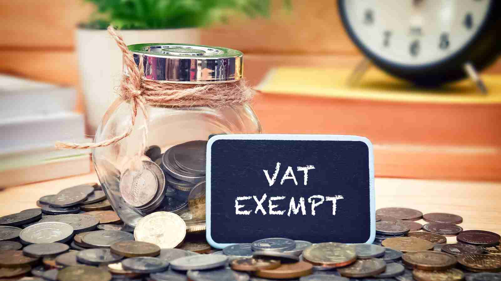 How to apply for VAT exemption