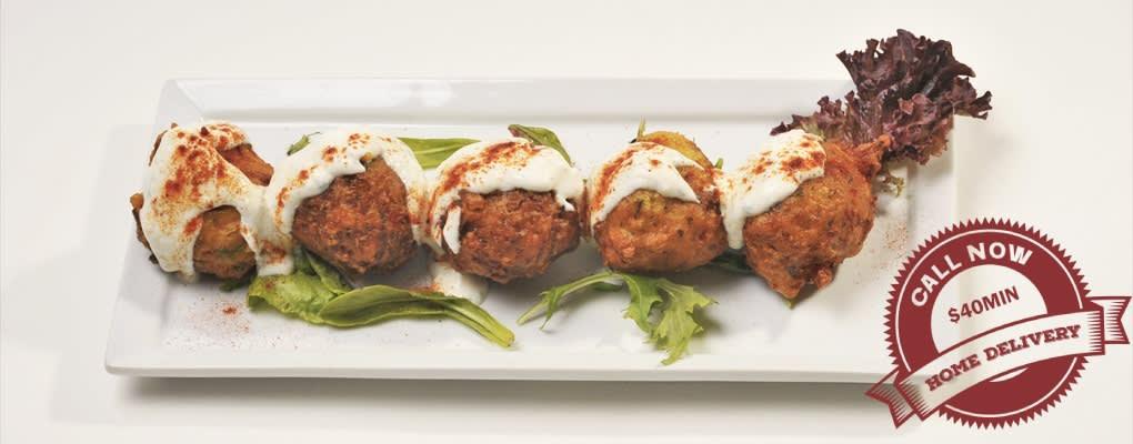 Turquoise Turkish – Zucchini Balls