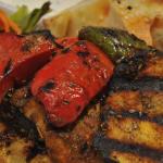 Turquoise Turkish Grilled Veg