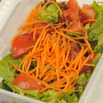 Turquoise Beef Kebab / Fresh Garden Salad