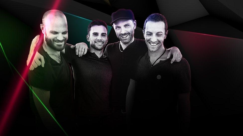 Coldplay 四人