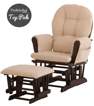 Brilliant The 5 Best Glider Nursery Chairs Moms Choice Creativecarmelina Interior Chair Design Creativecarmelinacom