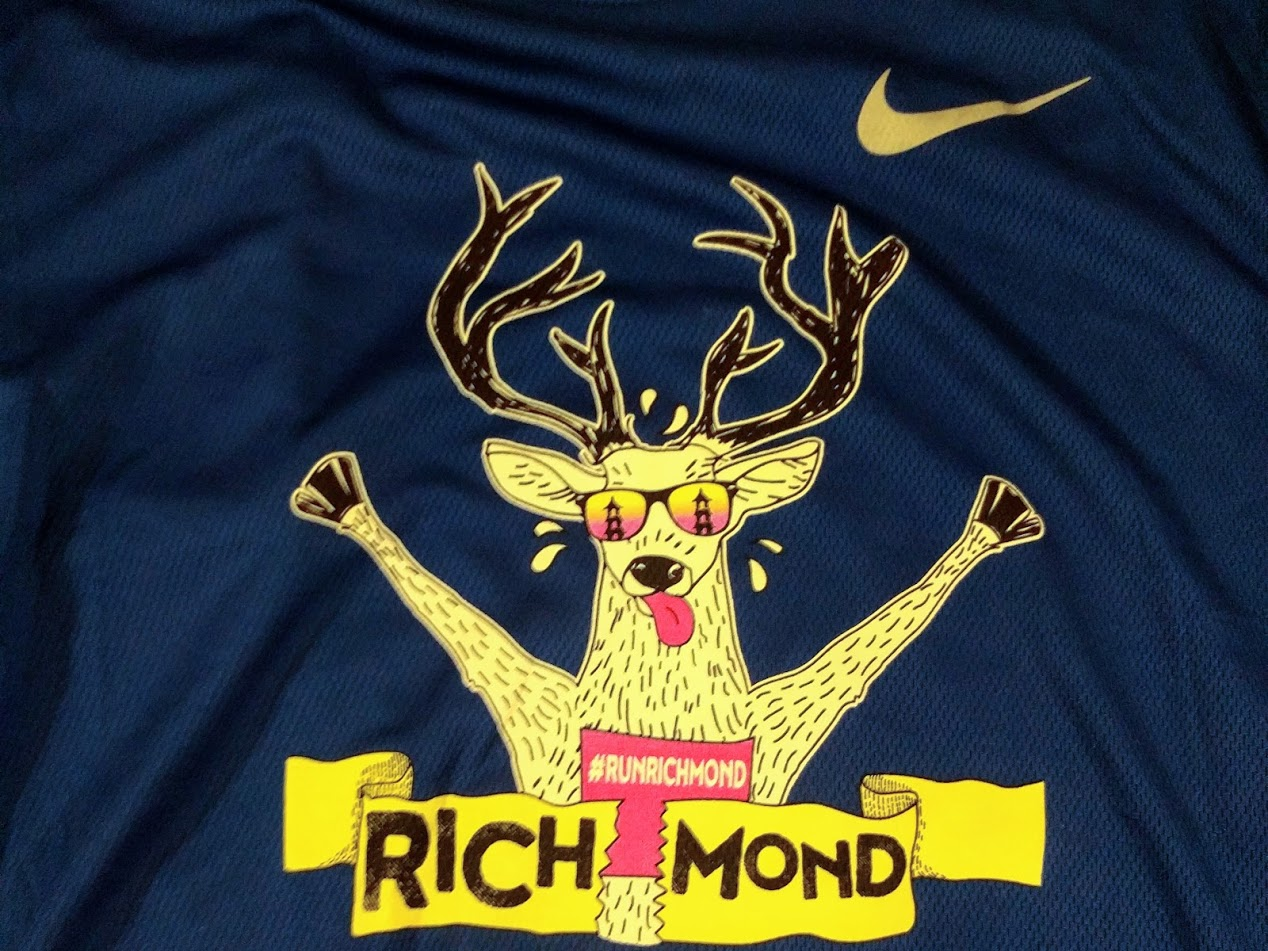 Runfest Richmond Marathon T-shirt