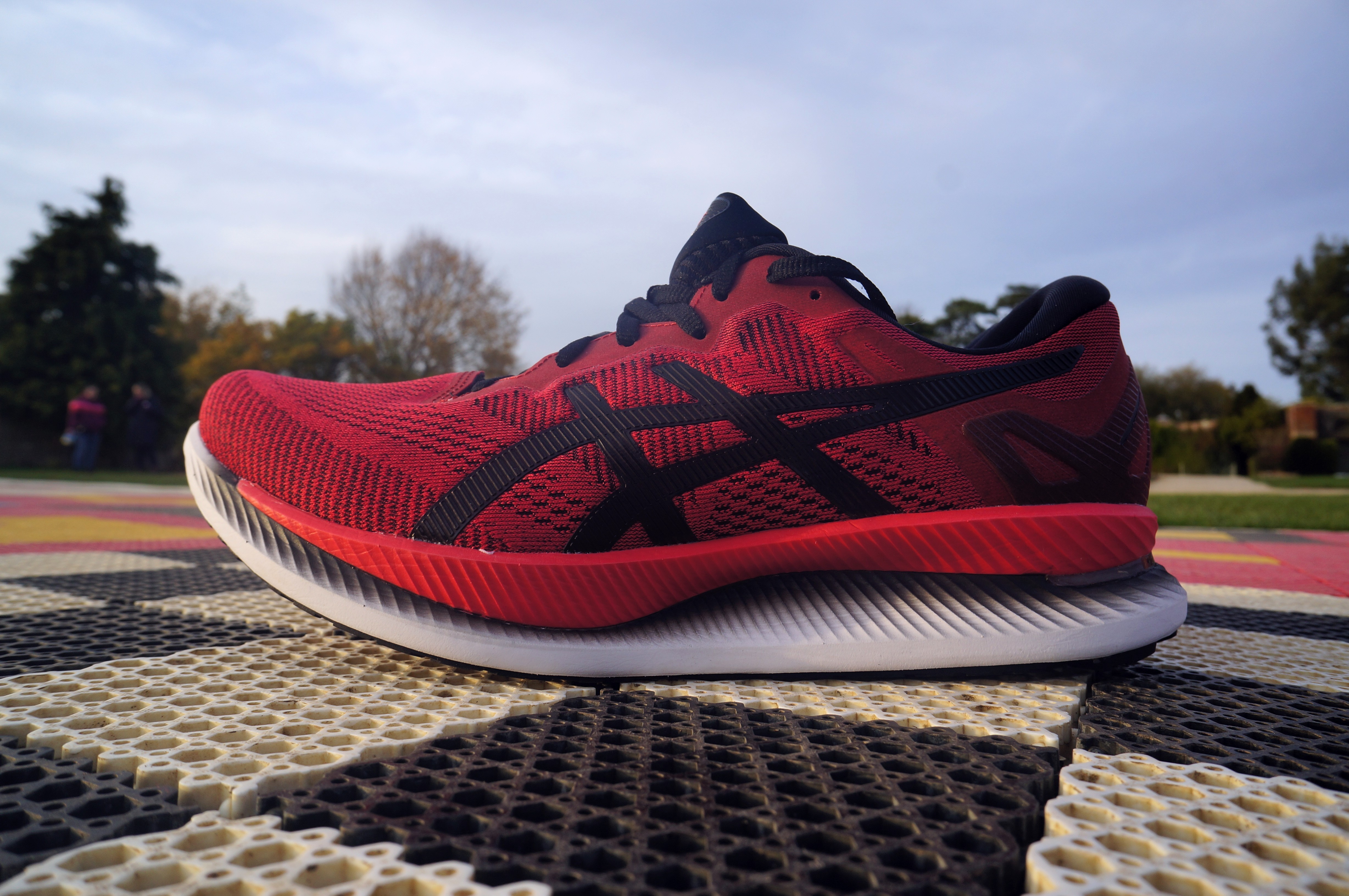 Asics GlideRide review - high stack profile