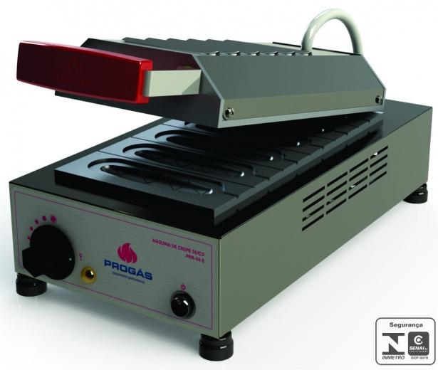 Maquina de Crepe Elétrica PRK-06 E  Progás