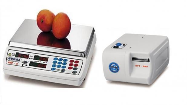 Balança com Etiquetadora ESE WB-15 + ETX-250 15 kg Gural
