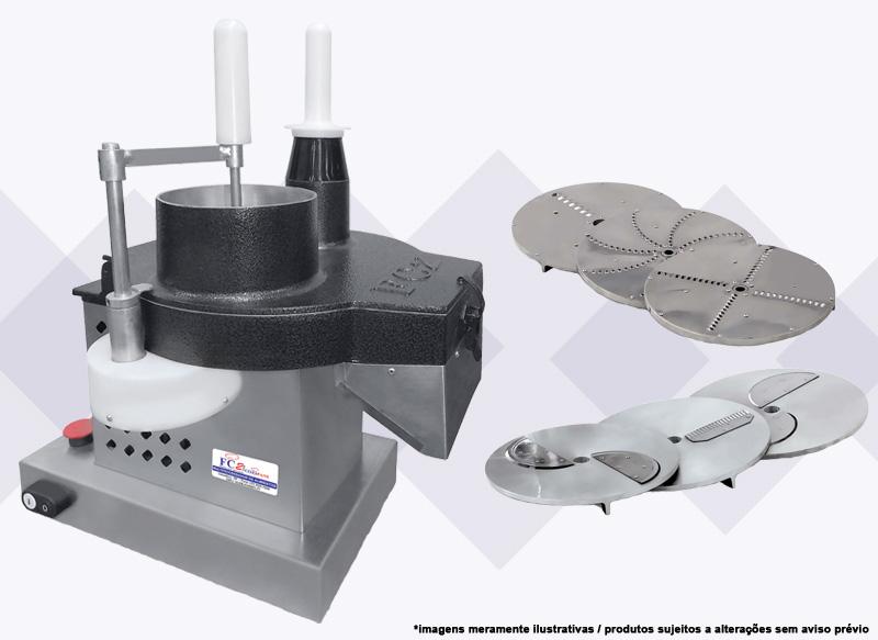 Processador de alimentos para pizza e outros FC2